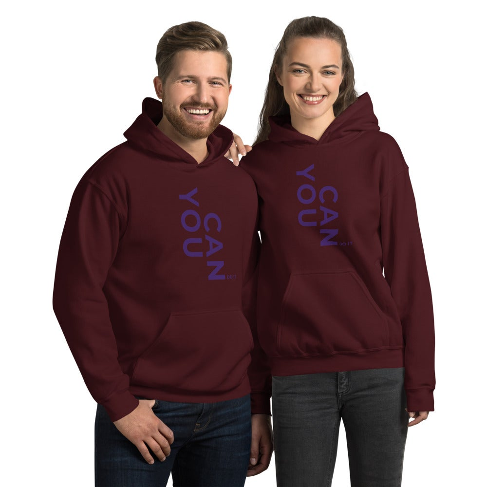 Image of You Can Do It Unisex Hoodie
