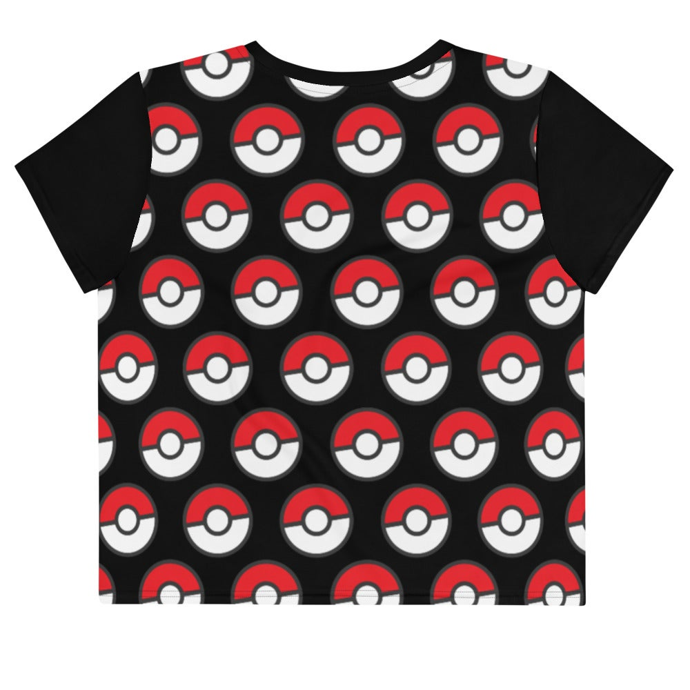 Image of Pokémon All Over Crop Tee