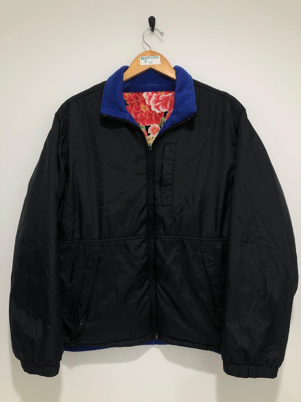 Image of Floral/Geisha Reversible Coat