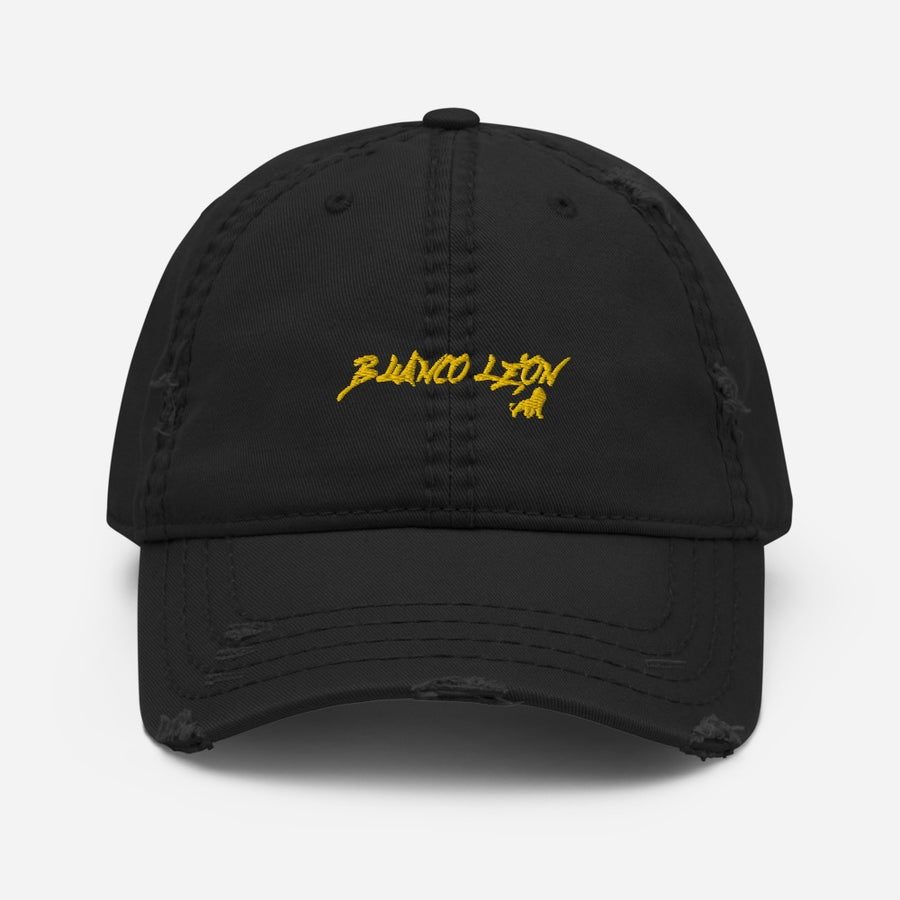 Image of Distressed León Dad Hat
