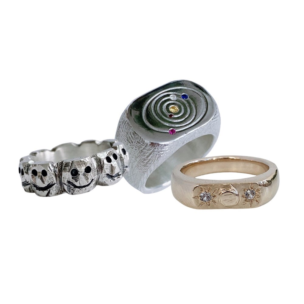 Image of make your own RING! Friday August 20 // 6-9 PM - SOLD OUT