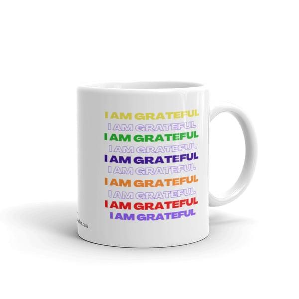 Image of I AM GRATEFUL Mantra Mug
