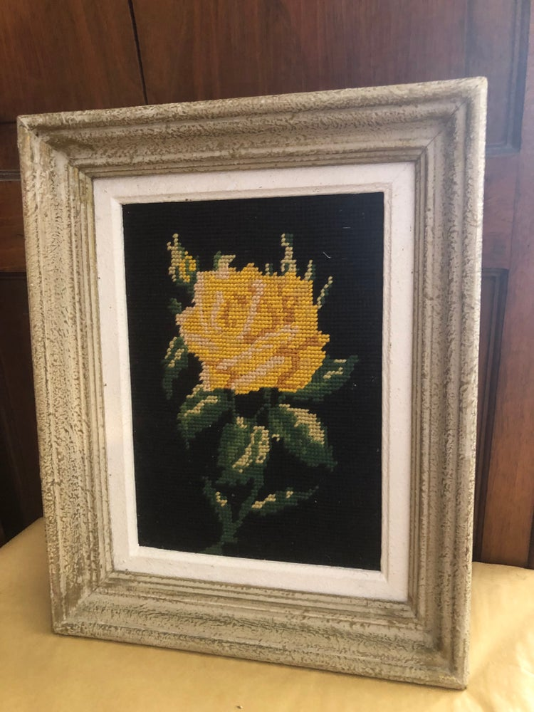 Image of French Tapestry in Frame