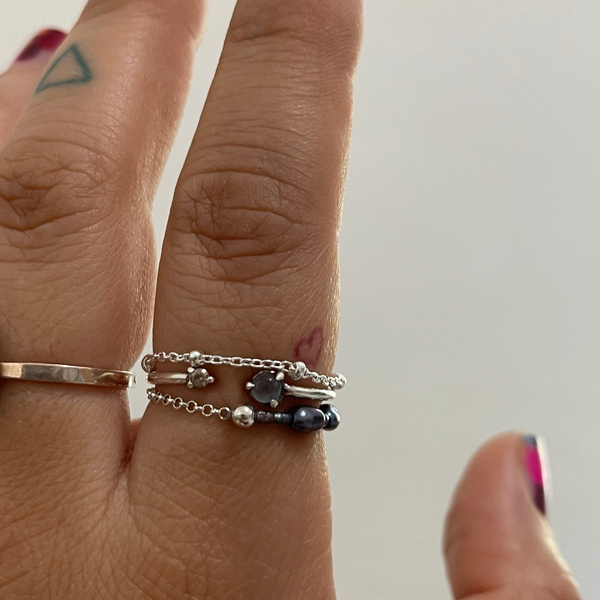Image of tiny dots chain ring