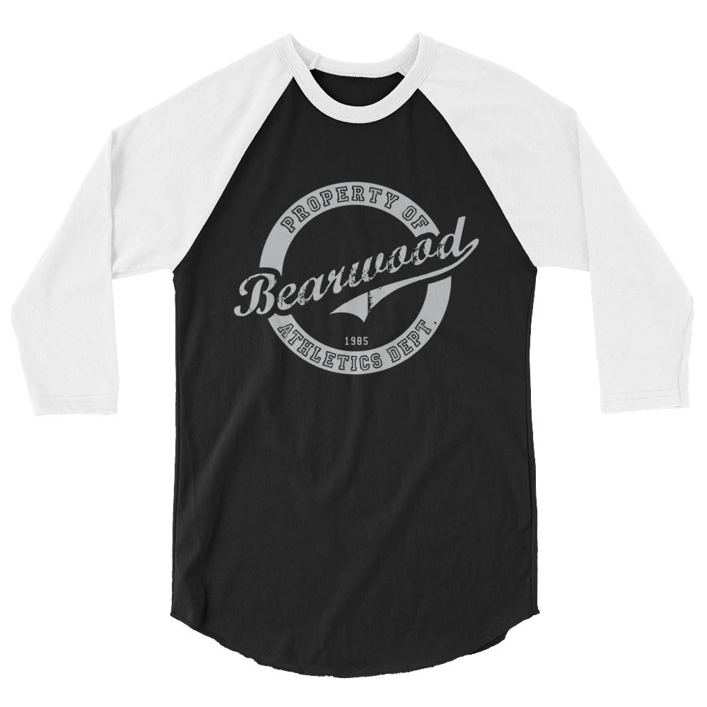 Image of 3/4 Black/White sleeve Baseball Tee