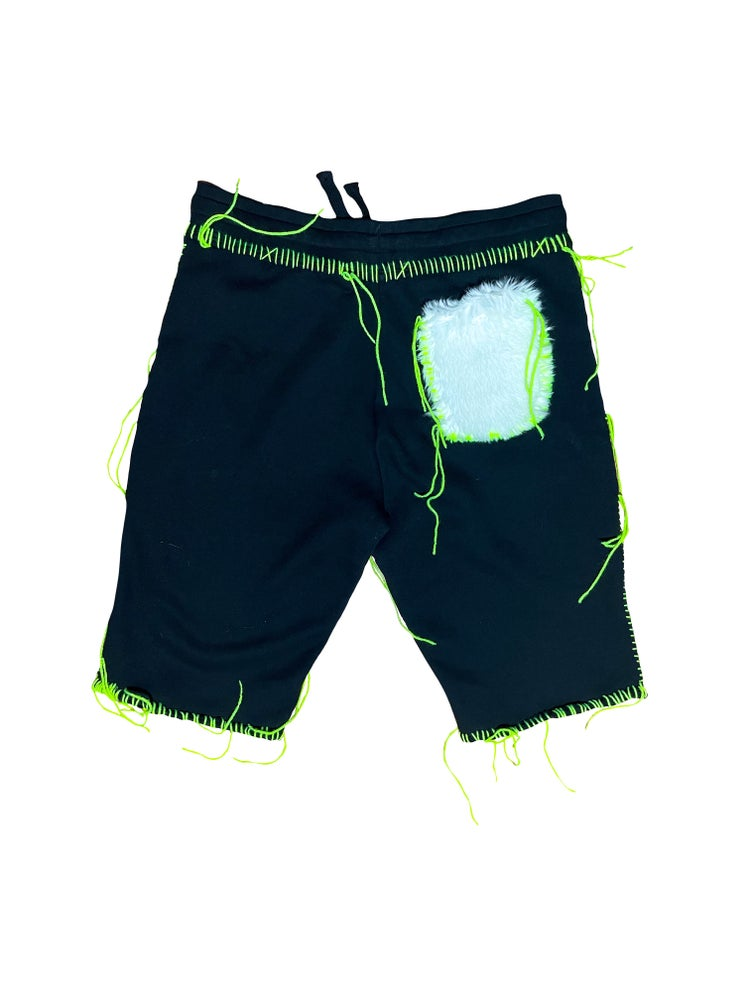 Image of FUR IN SUMMER SHORTS
