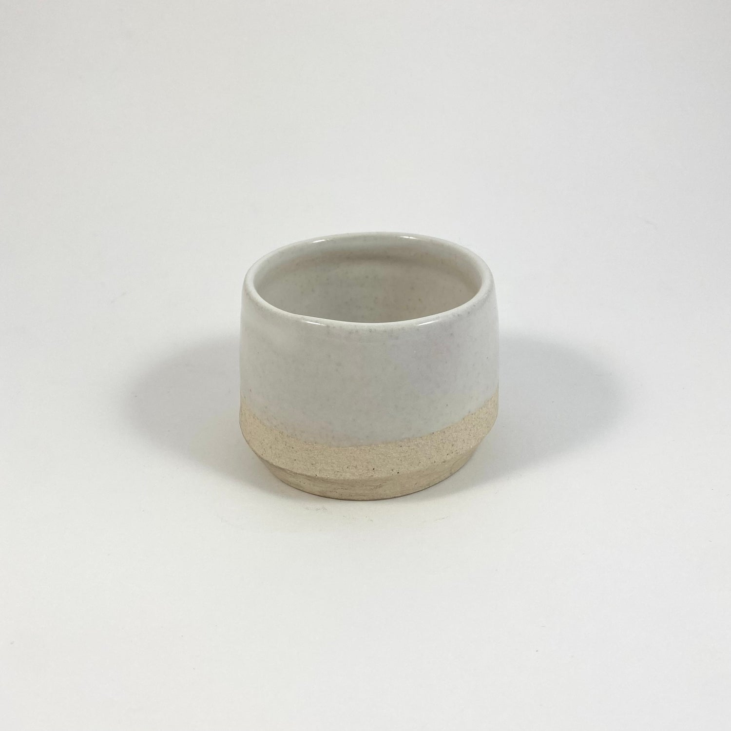 Image of Tiny White Ceramic Cup