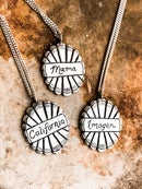 Image 1 of CUSTOM NAME NECKLACES