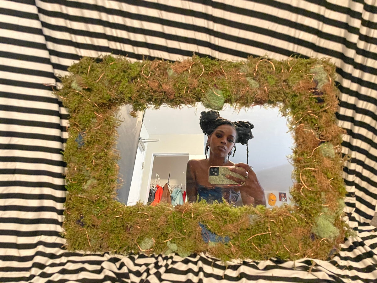 Image of Firefly moss mirror