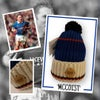 Flat Back 4 'MCCOIST' British Wool Bobble Hat
