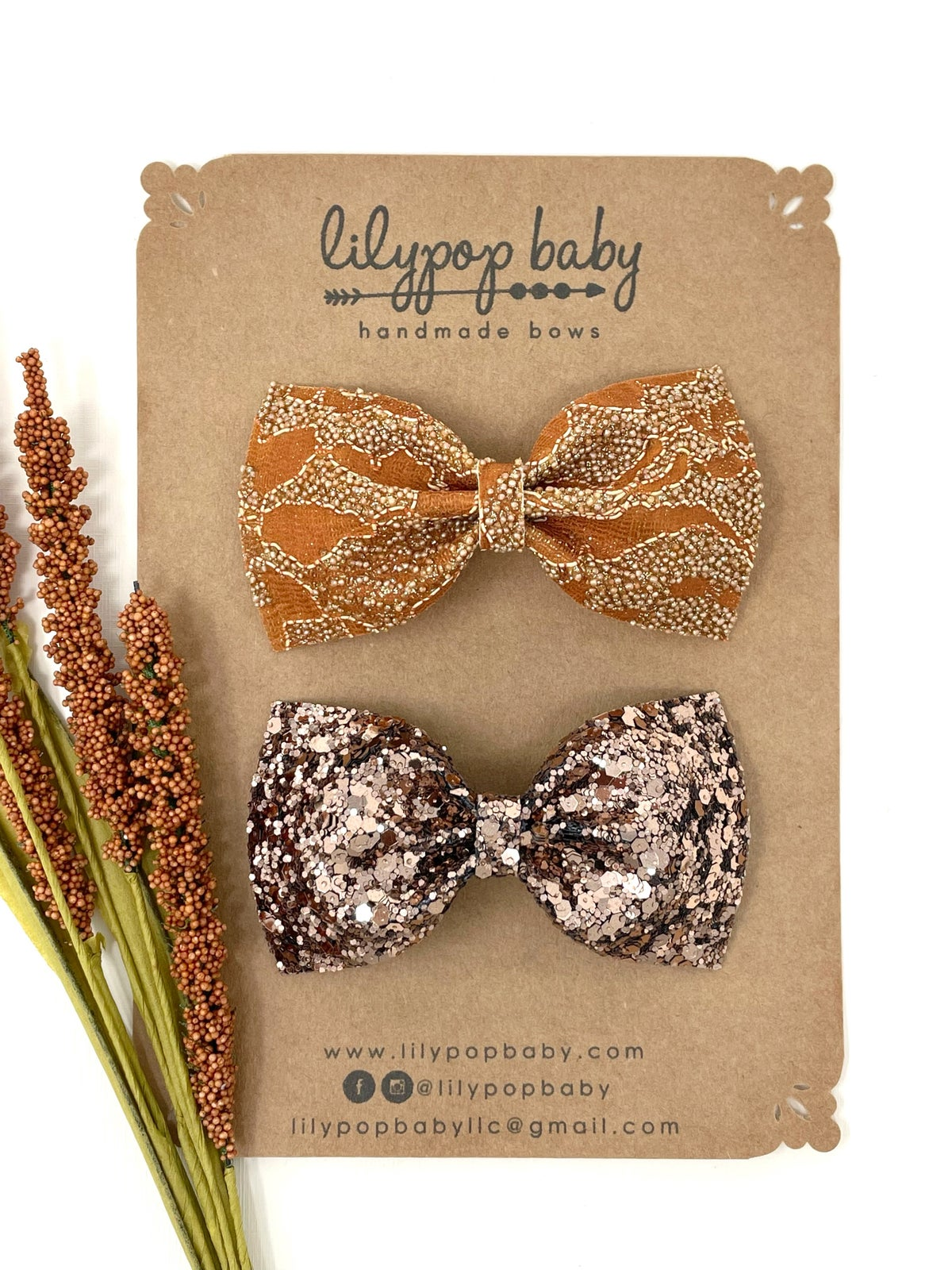 Image of Fall Ava Bows (Sold Separately)
