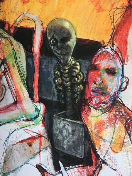 """Image of Teod """"Prison Sex"""" Hand Embellished LimitedEdition Giclée"""