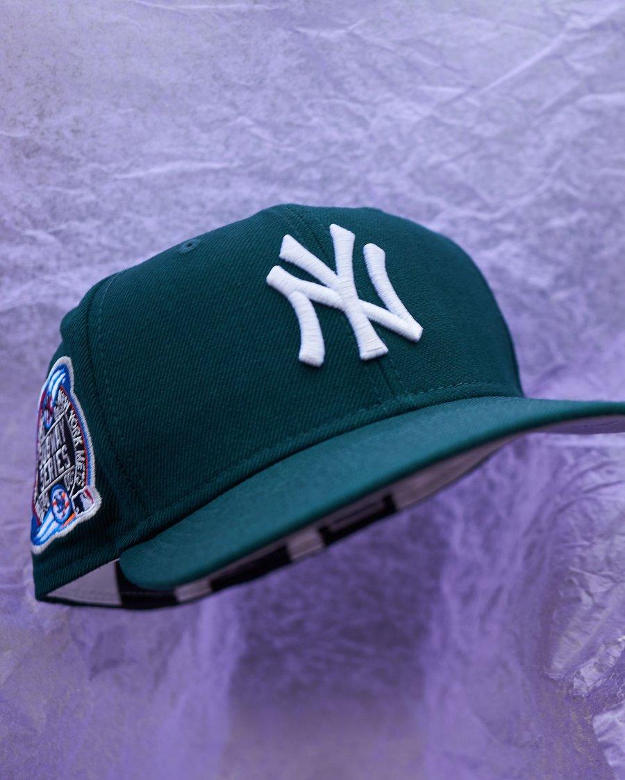 Image of JaeTips x Bronx Social Yankee- Forest Green/ Periwinkle Bottom
