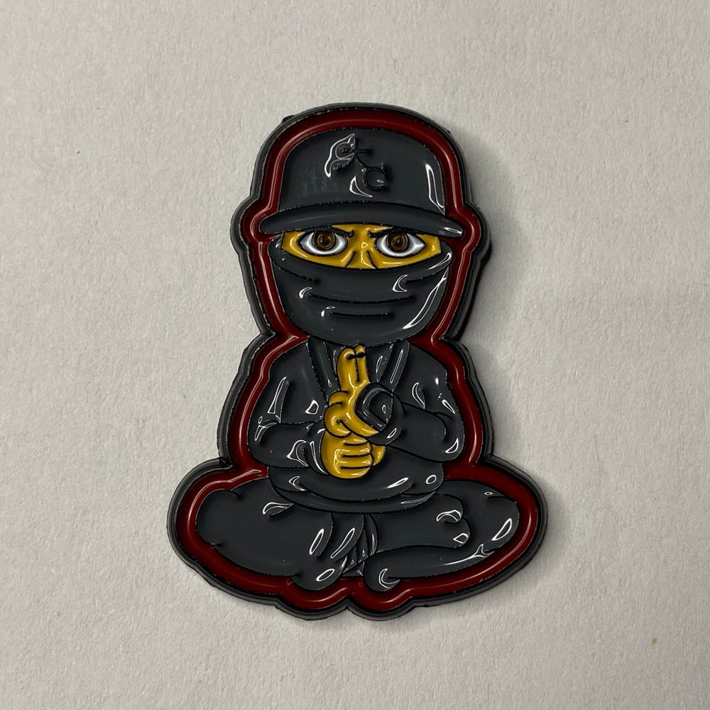 Cap Ninja Pin