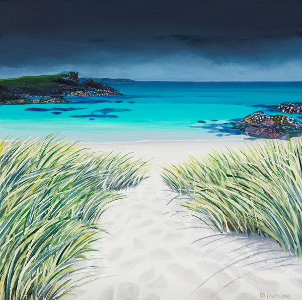 Image of Sandy toes, Clachtoll giclee print
