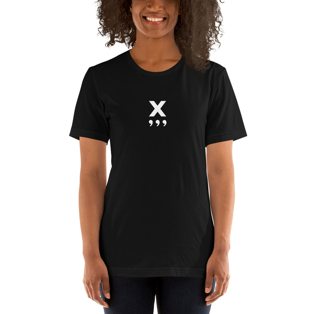 Image of X Unisex T-Shirt