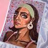 '70s Woman print