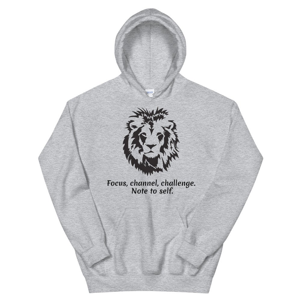 Image of I Am Focused Animal Ambition Collection Unisex Hoodie