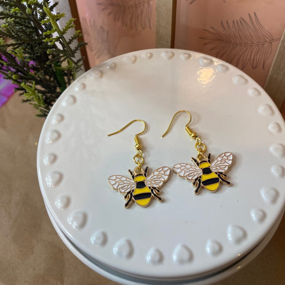 Image of Bee Mine Earrings
