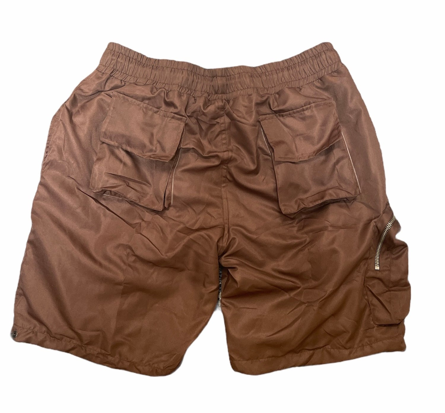 Image of Brown Wave-Tech Shorts