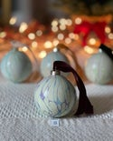 Marbled Ornaments - Twinkle