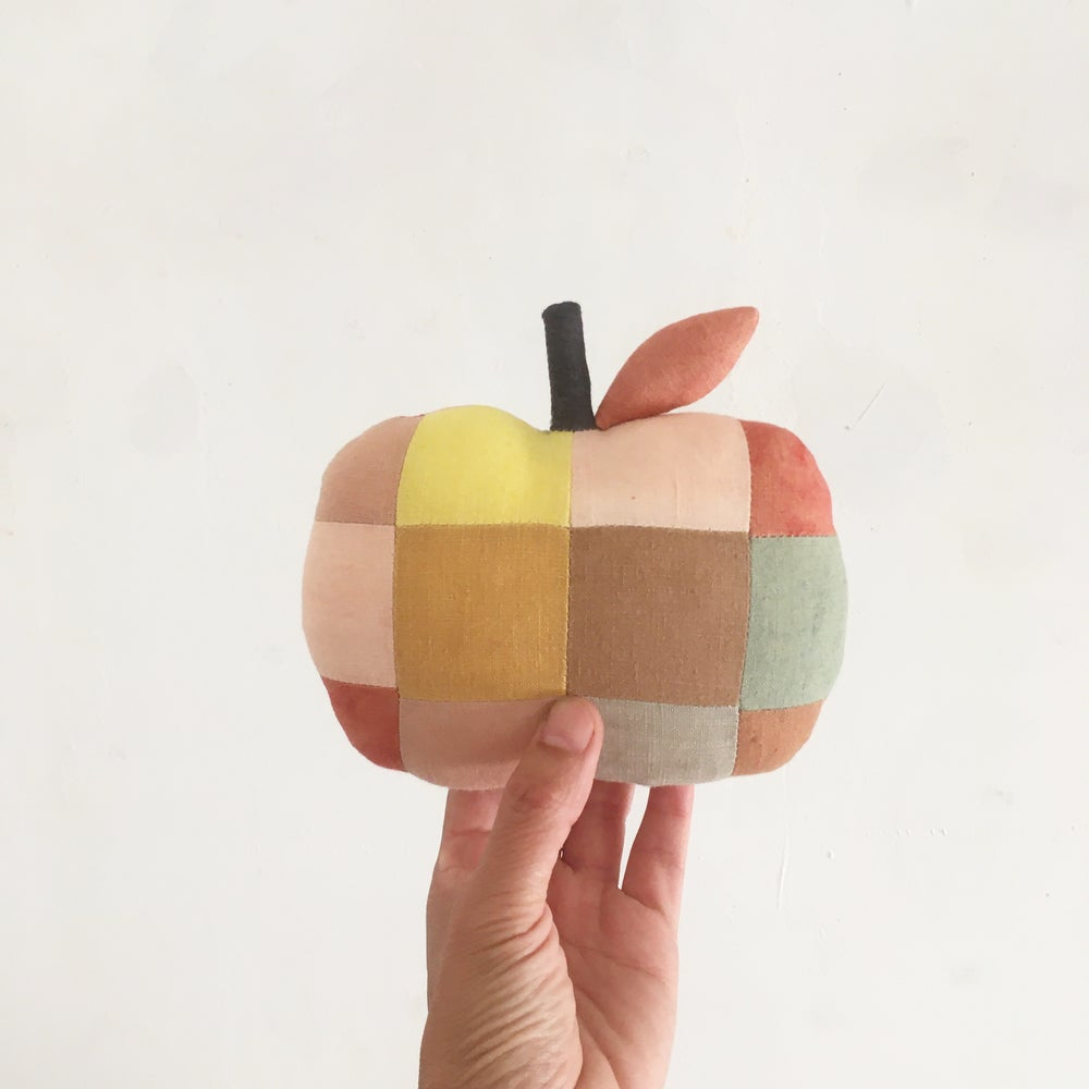 Image of Patchwork Apple (one of a kind!)