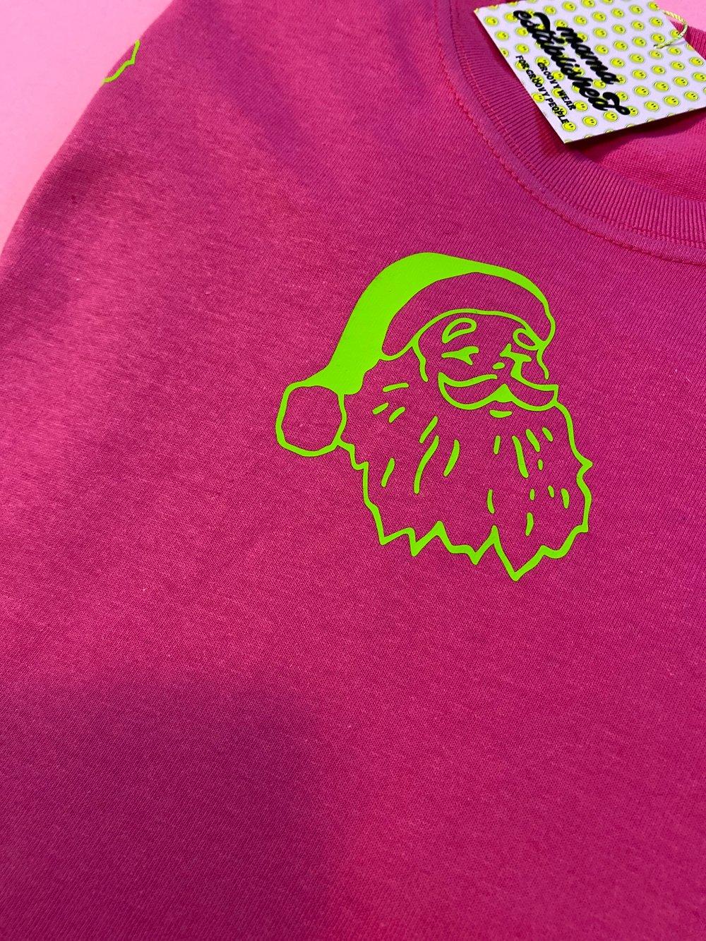 Image of Green Santa Tee or sweater