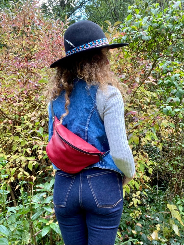 Image of #1711 Rose Red Fanny Pack