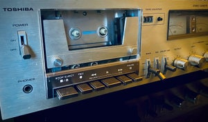 """Image of Toshiba """"PC-3460"""" stereo Cassette Deck"""