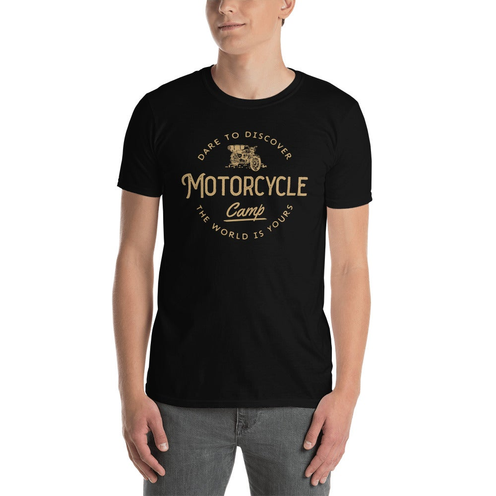 Motorcycle Camping Unisex T-Shirt