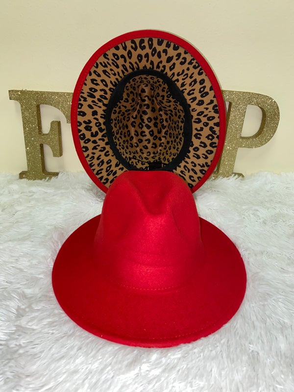 Image of Red leopard bottom