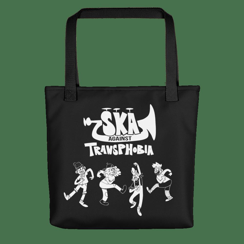 Image of PRIDE 2021 | SKA AGAINST TRANSPHOBIA | Black Tote bag