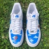 Butterfly Clouds Custom AF1s