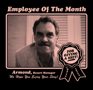 Image of Employee Of The Month - T-shirt
