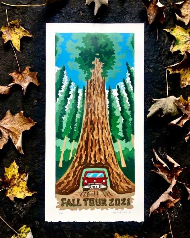 Image of Fall Tour 2021 print