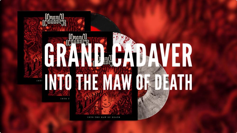 Grand Cadaver - Into the Maw of Death (Vinyl)