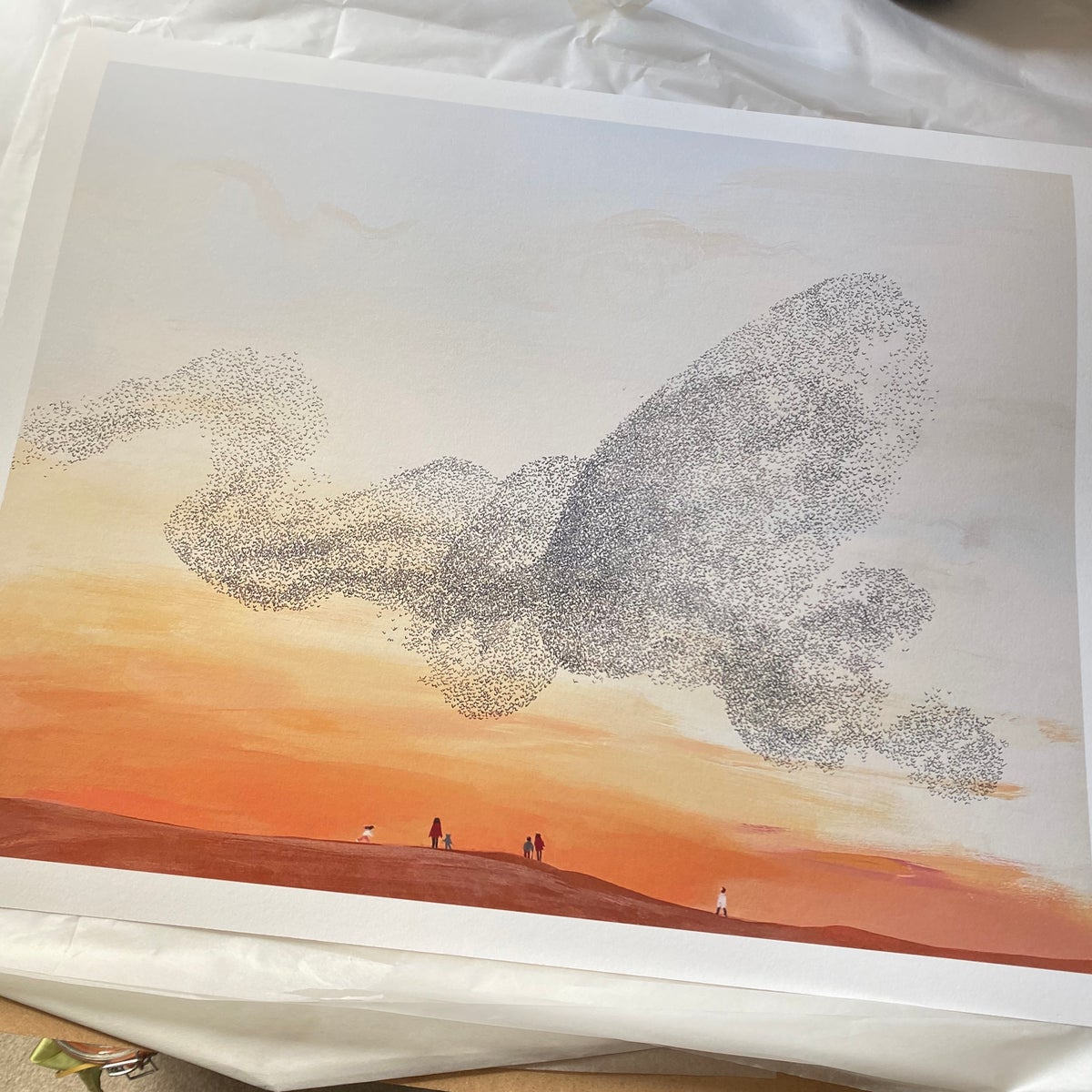 Image of 'Murmuration I' - Limited Edition Giclee Print