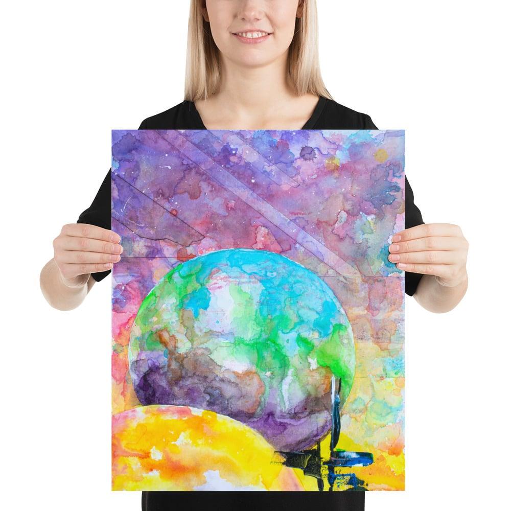 "Image of ||| PRINT ||| ""Celestial Landscape 1"" -Image One-"