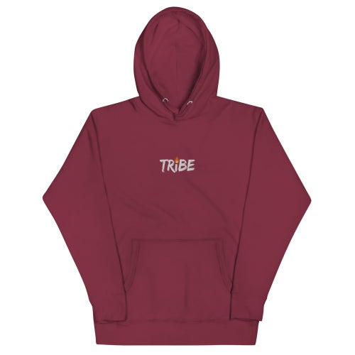 Image of Tribe Flame Embroidery Hoodie