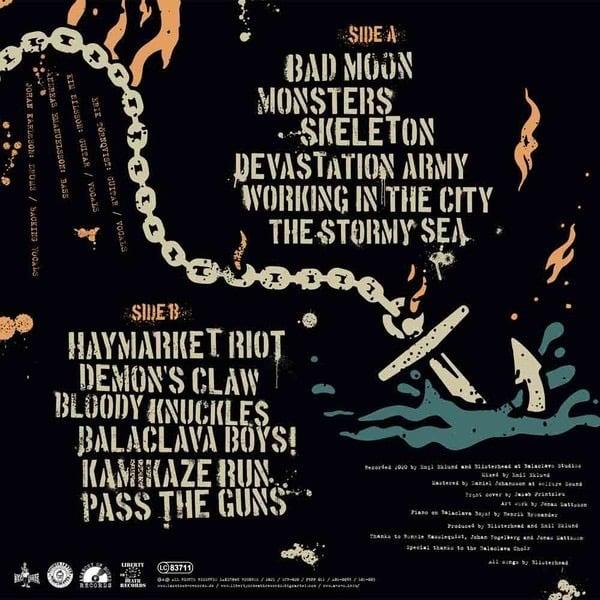 "Blisterhead - The Stormy Sea [12"" LP+CD]"
