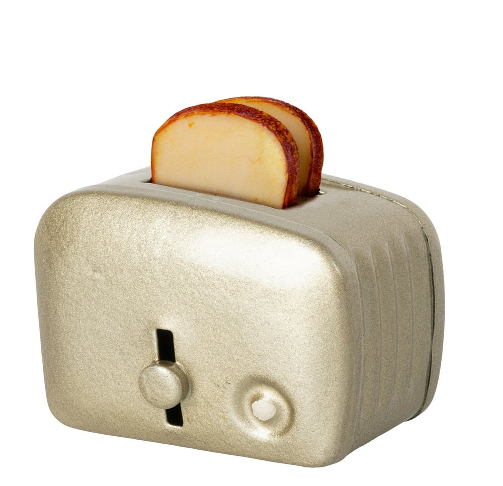 Image of Maileg - Miniature Toaster Silver (Pre-order)