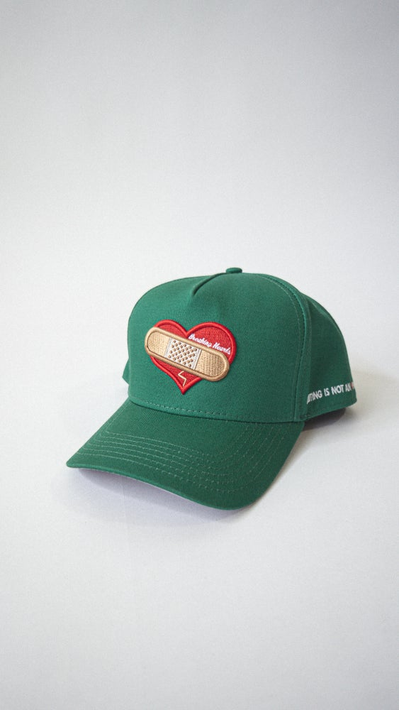 Image of BHC LOGO HAT (Quitting is not a Option) snapback