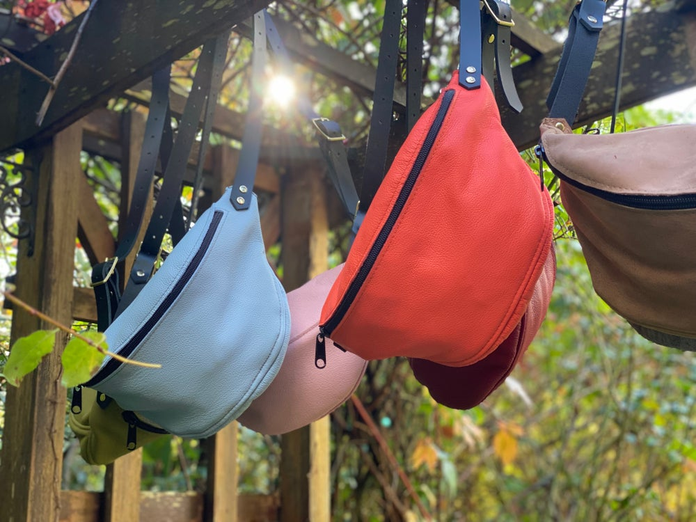 Image of #1714 Powder Blue Fanny Pack
