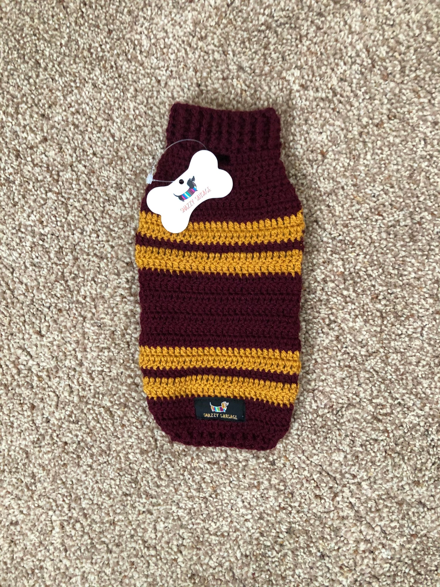 Image of Burgundy And Gold Snazzy