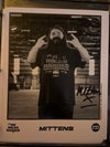 Mittens  Signed ICW NHB 8x10 Promo Photo #113