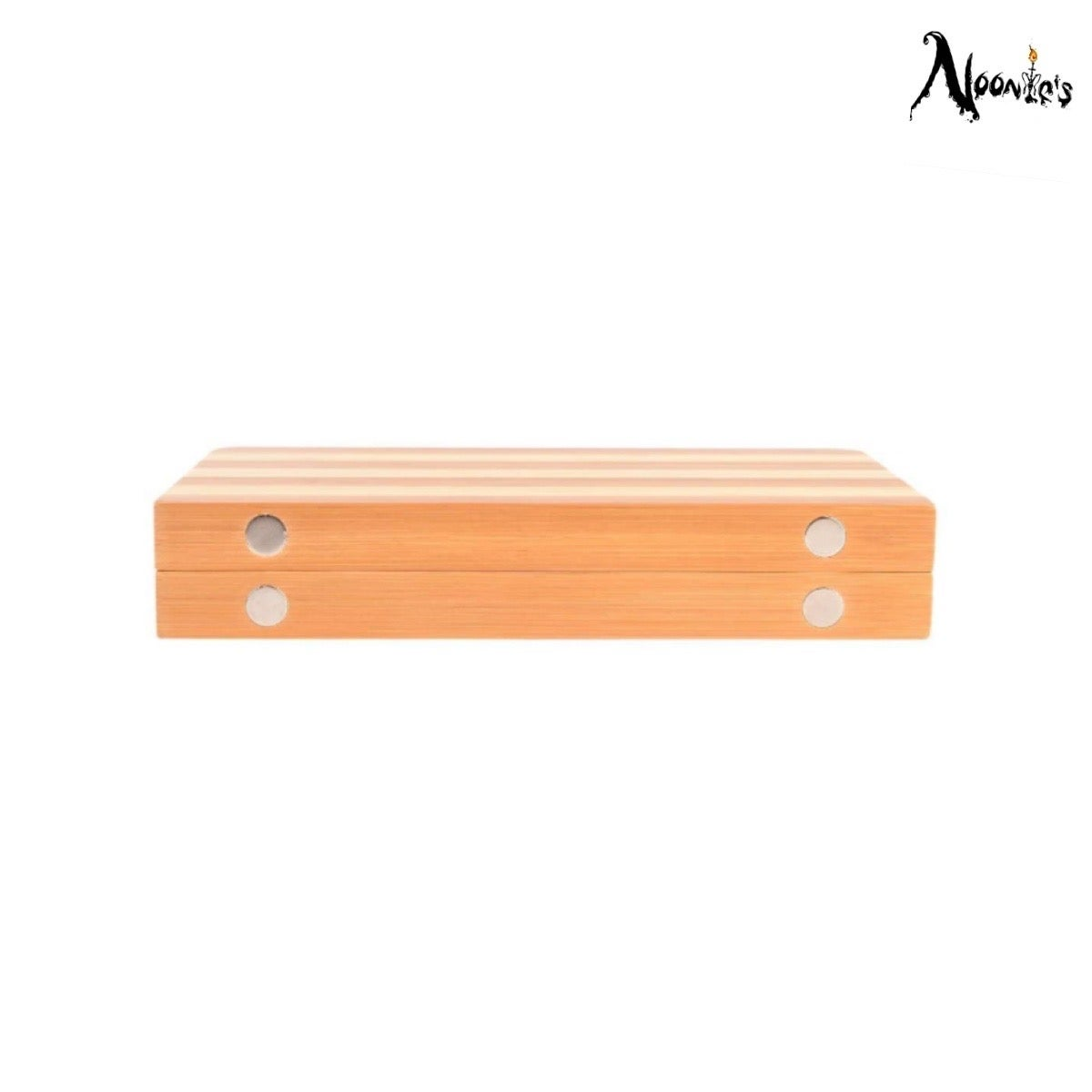 Image of Raw bamboo magnetic rolling tray