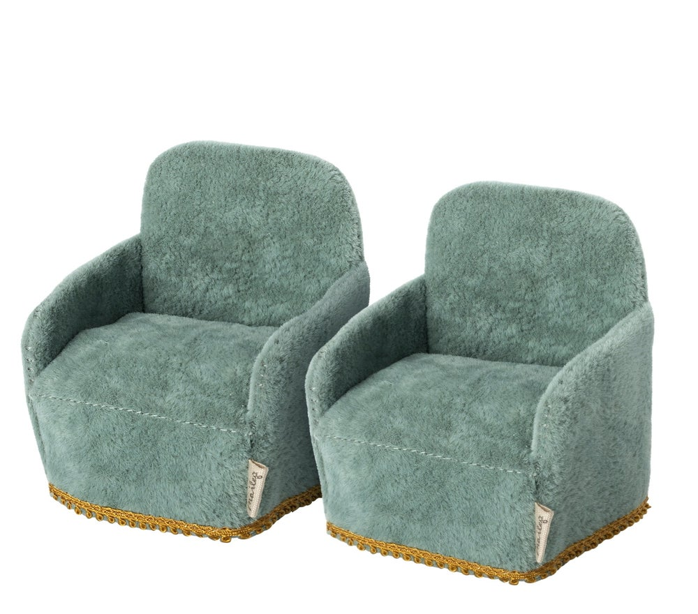 Image of Maileg - Chair Mouse 2pk (Pre-order)