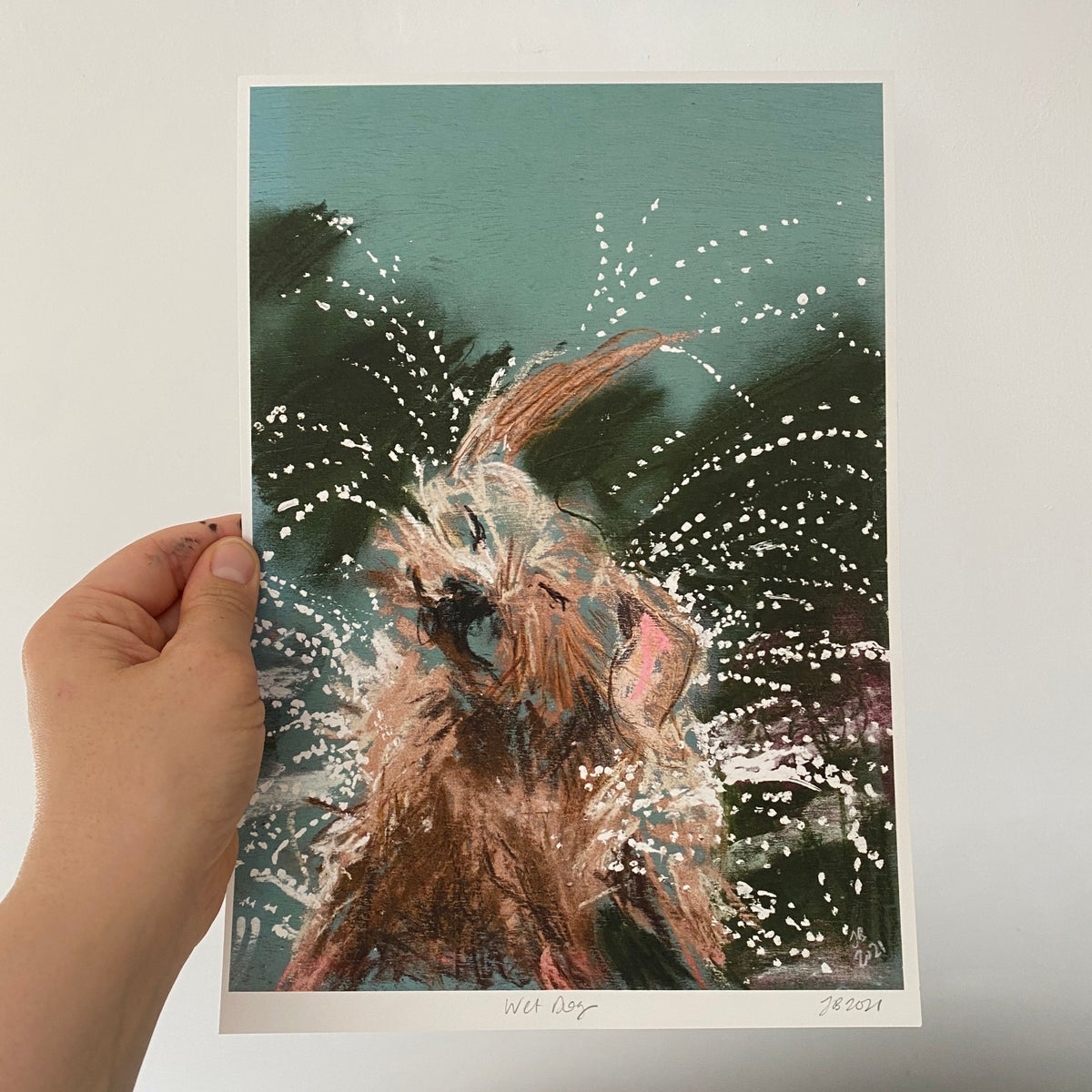 Image of 'Wet Dog' Archive Quality Print
