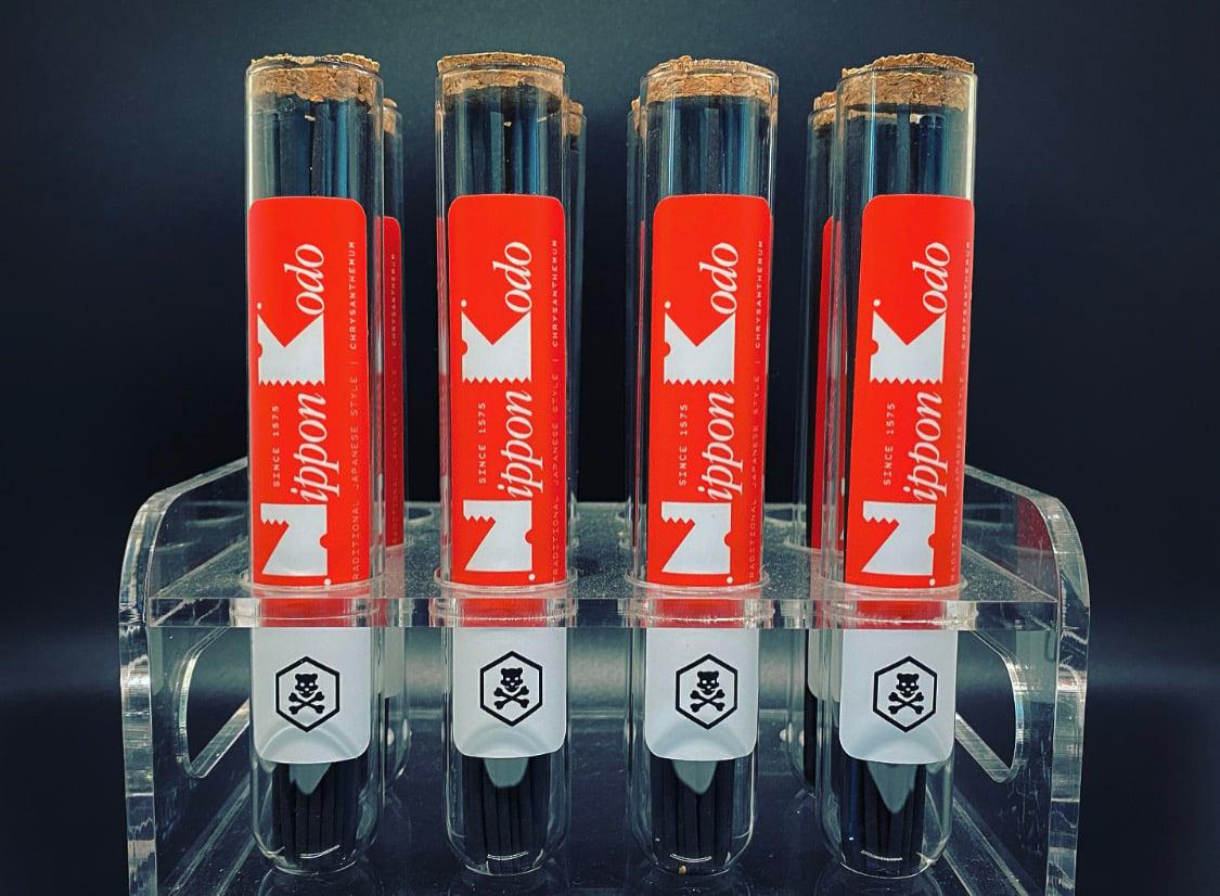 Nippon Kodo for Oso   Black Chrysanthemum Incense Sticks