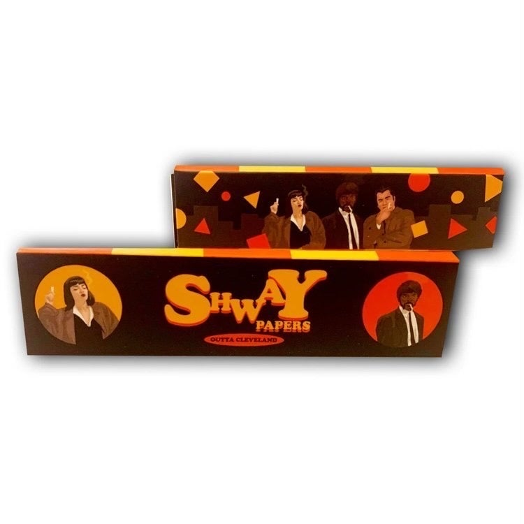 Image of Shway box (pulp fiction theme)